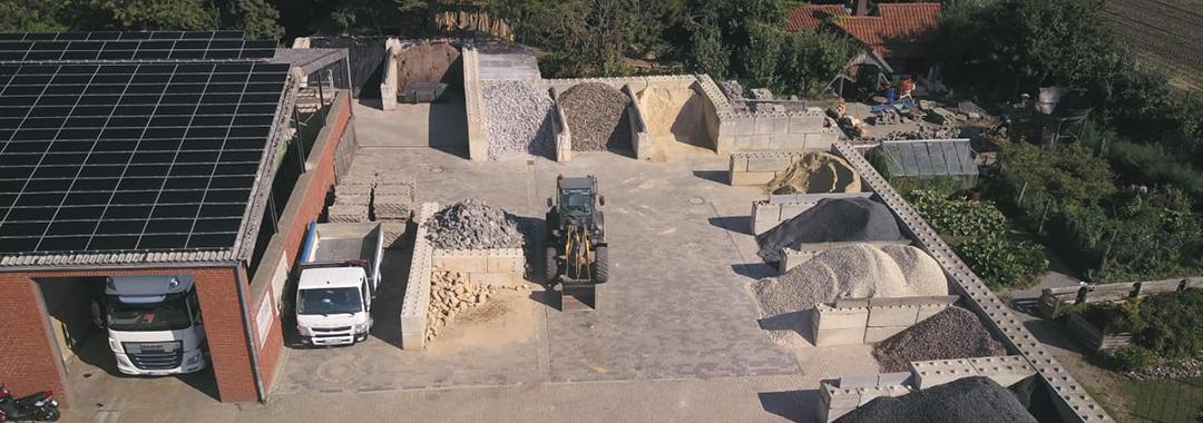 Baustofflager